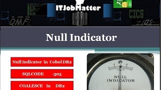 Null Indicator | SQLCODE -305  - interview coaching | interview training