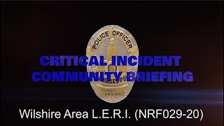 Wilshire Area LERI 5/30/20 (NRF029-20)