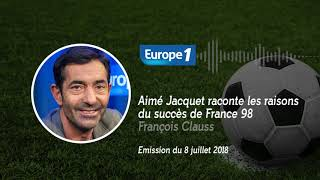 Aimé Jacquet raconte les origines du succès de France 98