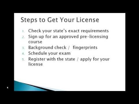 How to Get a Insurance License for Life and Health Insurance ...
