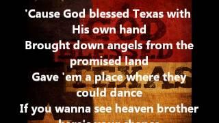 Little Texas- God Bless Texas (with lyrics)
