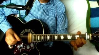 Mr. Spaceman ~ The Byrds - Roger McGuinn ~ Cover w/ Epiphone EJ-200CE BK