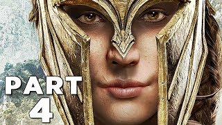 ASSASSIN'S CREED ODYSSEY Walkthrough Gameplay Part 4 - SPARTA (AC Odyssey)