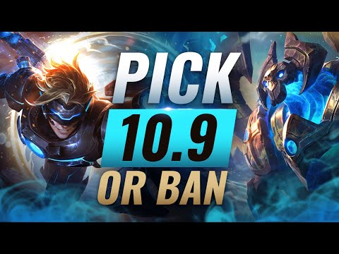 OP PICK or BAN: BEST Builds For EVERY Role - League of Legends Patch 10.9