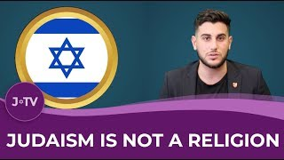 WATCH: Believe Judaism is a religion? Think again...
