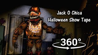 360°  Jack O Chica Halloween Tape - Five Nights at Freddy