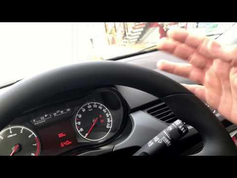 PKW Scheibenwischer benutzen Cockpit Instrumente nutzen Opel Corsa E Anleitung