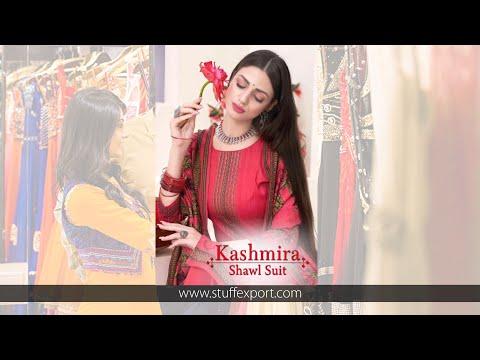 Naayika Export Kashmira Shawl Suit Spun Print Winter Suits Catalog