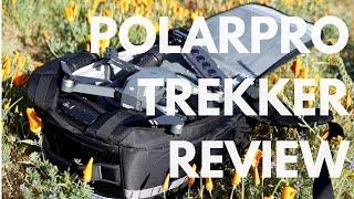 PolarPro Trekker Backpack Mavic Pro REVIEW