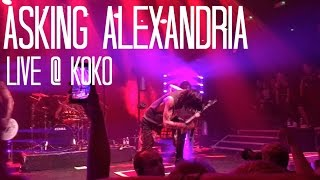 Asking Alexandria @KOKO Video + Concert Review | LivLoren