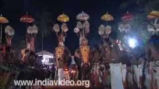 Vishu festival at Thiruvangad Sree Ramaswamy Temple