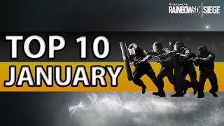 [ENGLISH] RAINBOW SIX SIGE - TOP 10 Plays of January (2017)