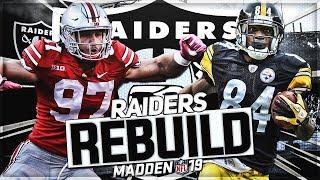 madden 19 antonio brown raiders rebuild - TH-Clip
