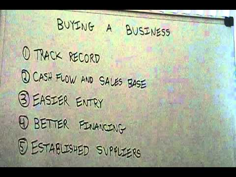 Benefits of Buying a Business