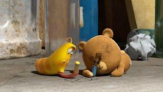 LARVA   BEST FRIEND TEDDY   Cartoon Movie   Videos For Kids   Larva Cartoon   LARVA Official