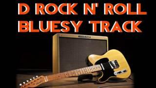 D rock n roll bluesy Backing Track - 160 bpm Highest Quality (#8) - Meio Musical