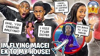 JAY CHEATING ON AALIYAH WITH TYLER SISTER & IM FLYING MACEI EX TO MY HOUSE!💔