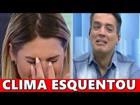 Leo Dias passa dos limites no Fofocalizando do SBT e sobra ate pra Livia Andrade.