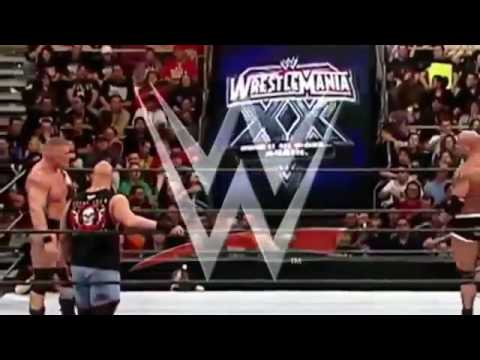 Goldberg vs Brock Lesnar  Stone Cold  RAW  WWE Royal Rumble HD