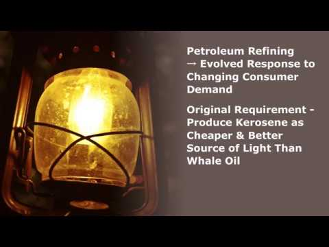 Basic Petroleum Refinery Processes - YouTube