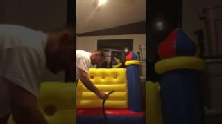 Jump-o-Lene castle bouncer by intex/ bouncy castle bouncy house