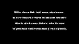Hidra - Neden mi İllegal 2 lyrics (Sözler ekranda)