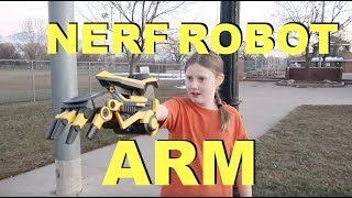 Nerf Robot Arm