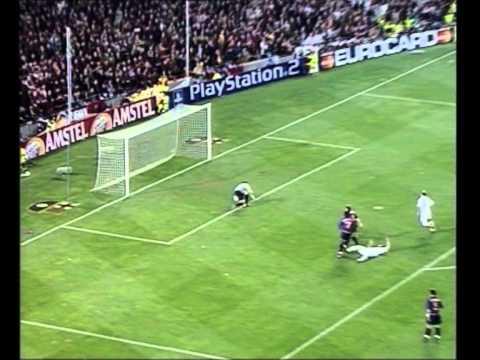 Barcelona 0-2 Real Madrid   2001/02 UEFA Champions League semifinales