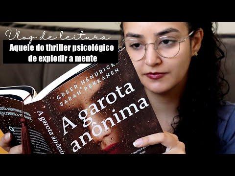 Vlog de leitura: A garota anônima l 2021