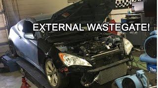 How I Made OEM Turbo External Wastegated