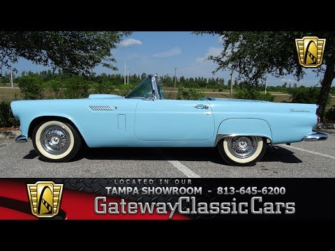Video of '56 Ford Thunderbird - $35,995.00 Offered by Gateway Classic Cars - Tampa - LBDH