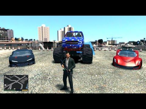 Auto from GTA V for GTA IV
