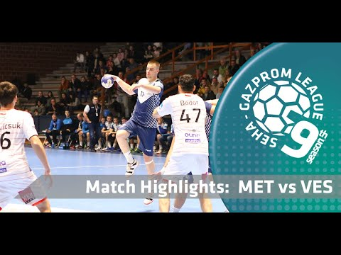 Match highlights: Metaloplastika vs Telekom Veszprem