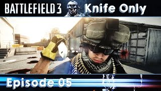 Battlefield 3 Knife Only #05