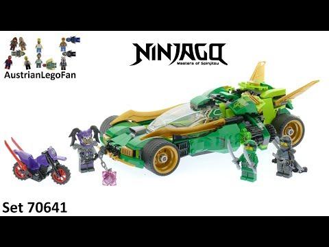 Vidéo LEGO Ninjago 70641 : Le bolide de Lloyd