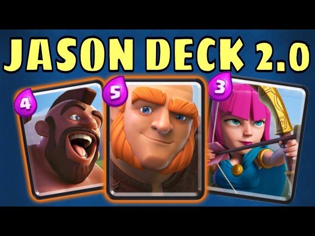 Clash Royale Jason S Deck clash royale jason deck 2 0 has arrived ...