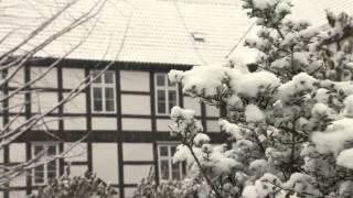preview picture of video 'Schneetreiben in Harpstedt'