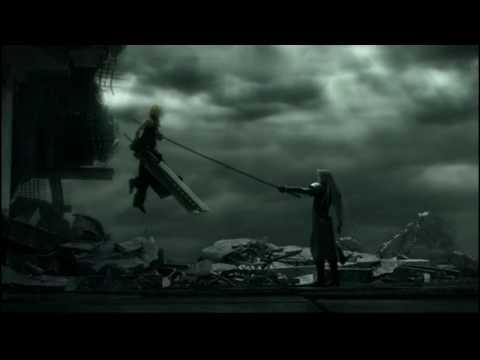 FFVII AC Complete Cloud vs Sephiroth [HD]