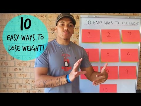 Video 10 Easy Ways To Lose Weight Fast