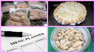 Meal Prep- Freezer Meal Planning