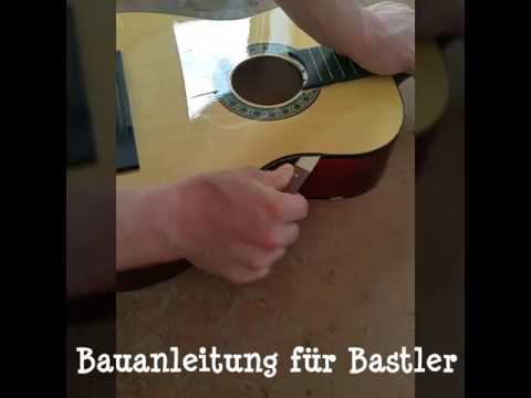 Bauanleitung Retro Gitarrenregal
