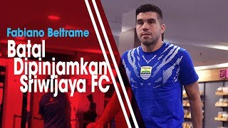 Sudah Berkomunkasi dengan Persib, Fabiano Beltrame Batal di Pinjamkan ke Sriwijaya FC