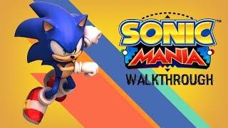 Sonic Mania Walkthrough Full Game (Modern Sonic Mod)