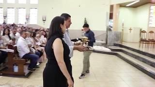 Canto de Ofertório - Solenidade de Jesus Cristo, Rei do Universo (Batizados) (25.11.2018)