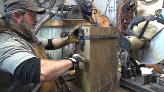 Blacksmithing Shorts - Wedged Straps For An Anvil Stand