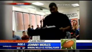 N. TX football players quit after coach's son named starting quarterback