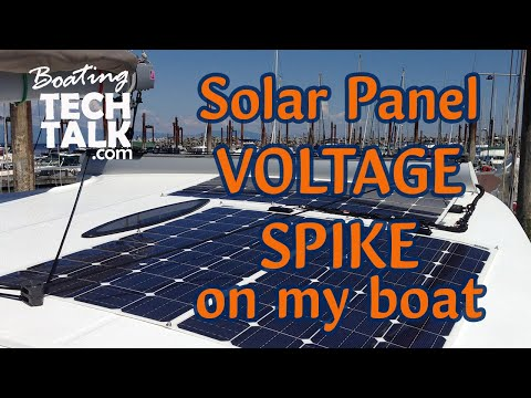 I Am Fusing My Solar Panel - What Is a Voltage Spike?