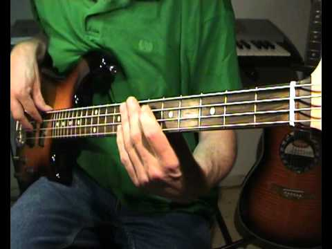 Crowded House - Don\'T Dream It\'s Over - Bass Cover Chords