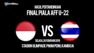 Hasil Pertandingan Final Piala AFF U-22 Indonesia Vs Thailand, Garuda Muda Berhasil Raih Gelar Juara