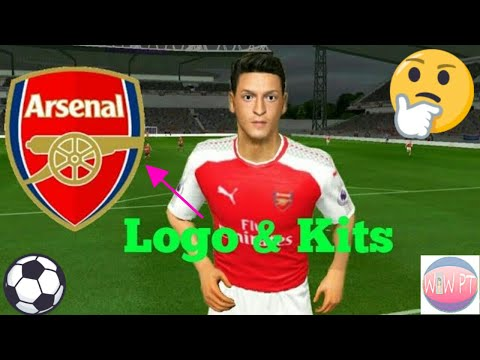 best value 1c43c 6b2c9 How To Create Arsenal Team ☆ Kits Logo & Players ☆ Dream ...